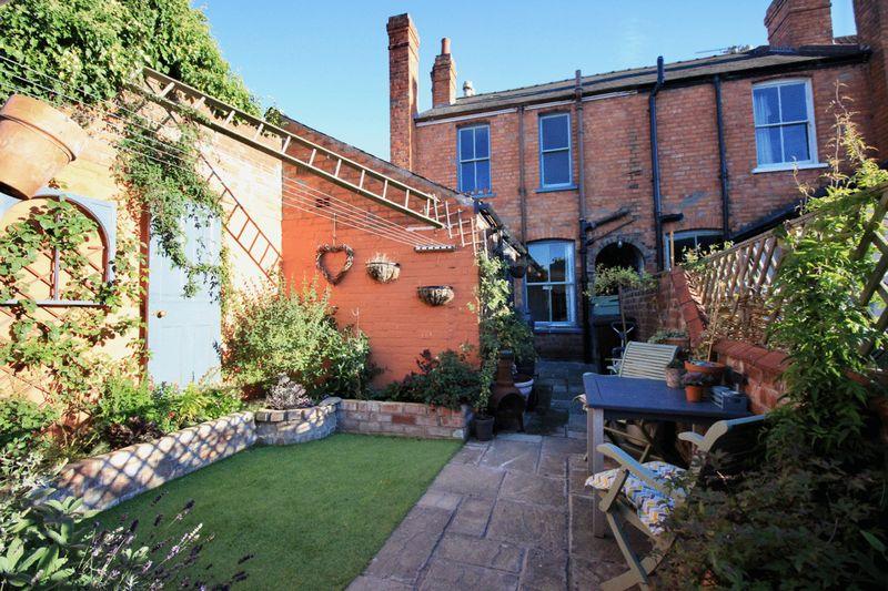 A Sun-Trap Garden