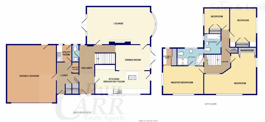 floor plan for 37b Foley Road East