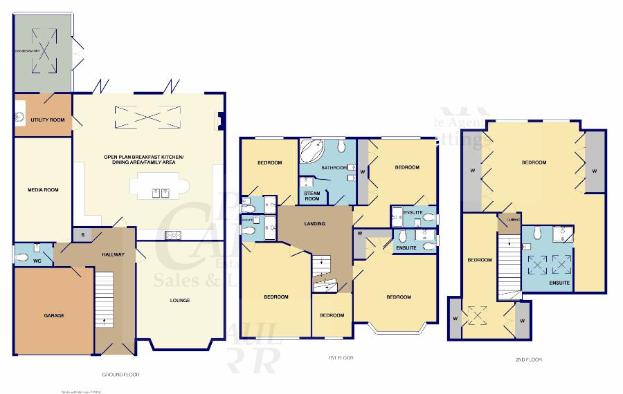 floor plan for 31 Leighswood