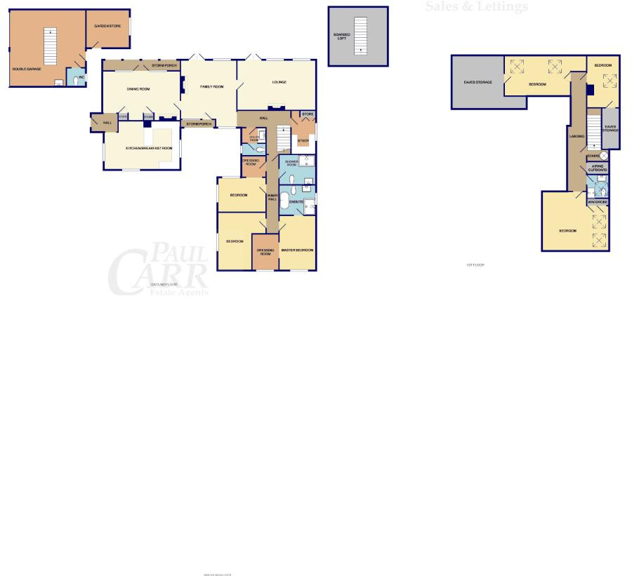 floor plan for 114 Walsall Road