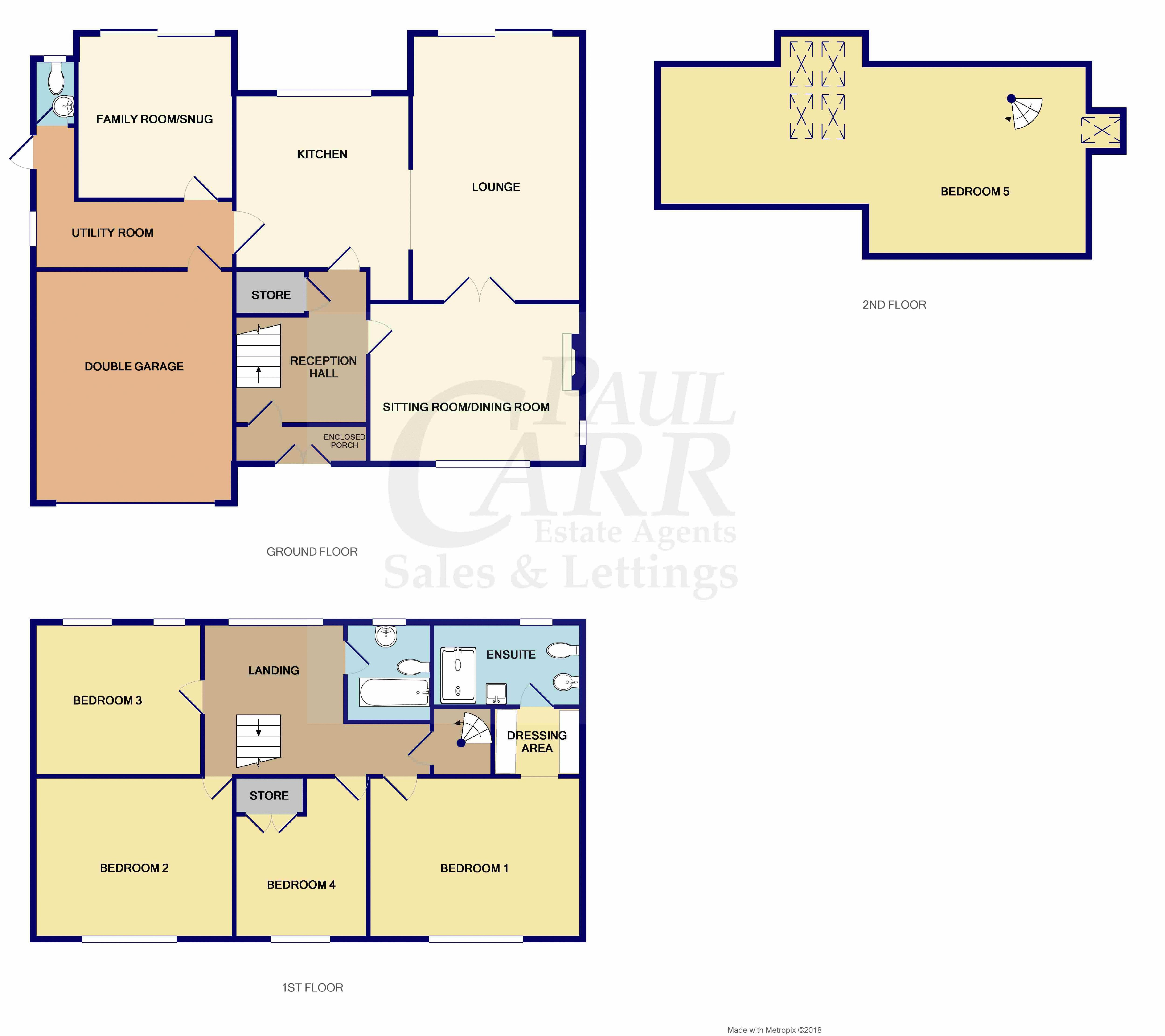 floor plan for 12 court drive