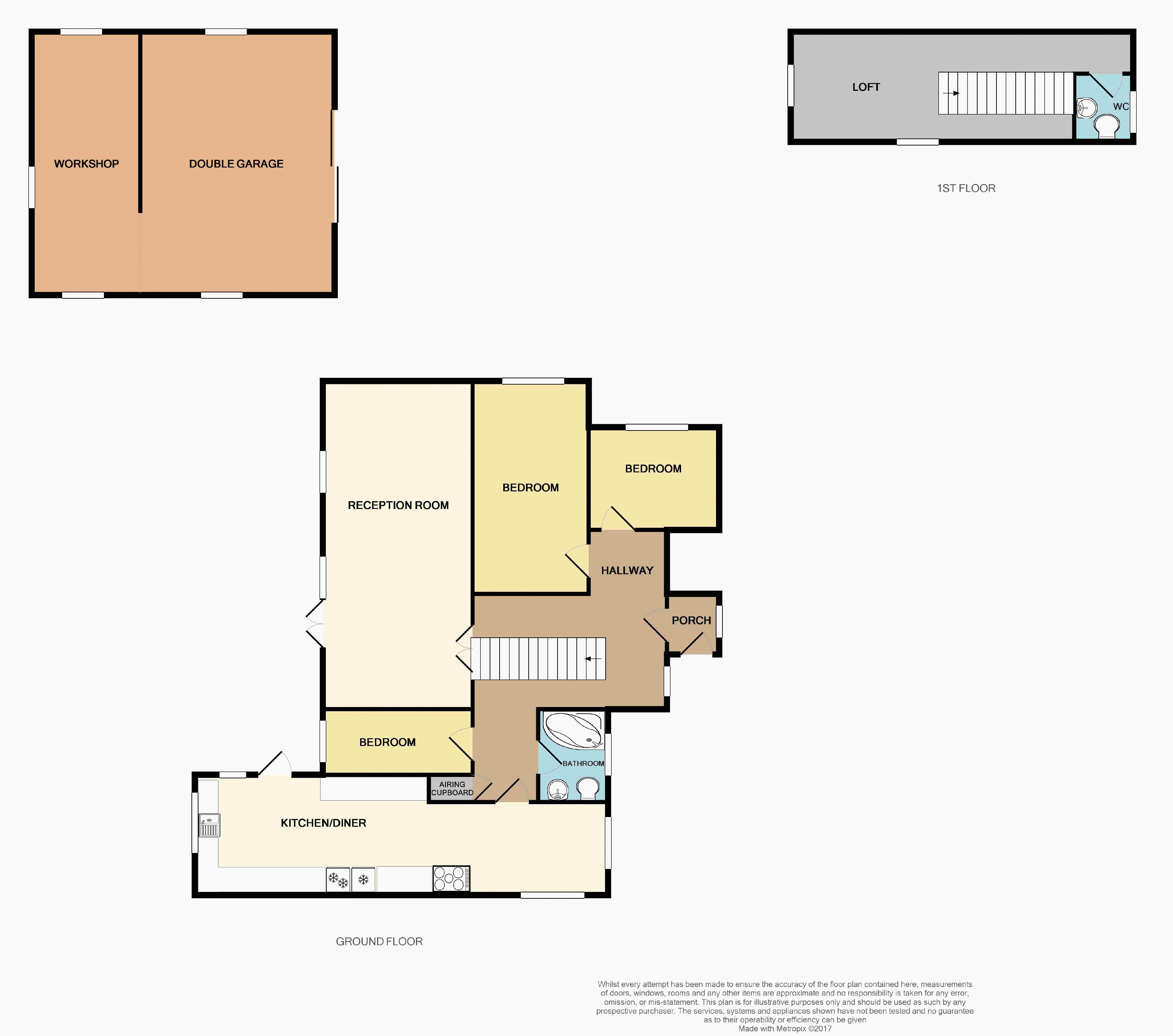 Heddon Mill Floor Plan