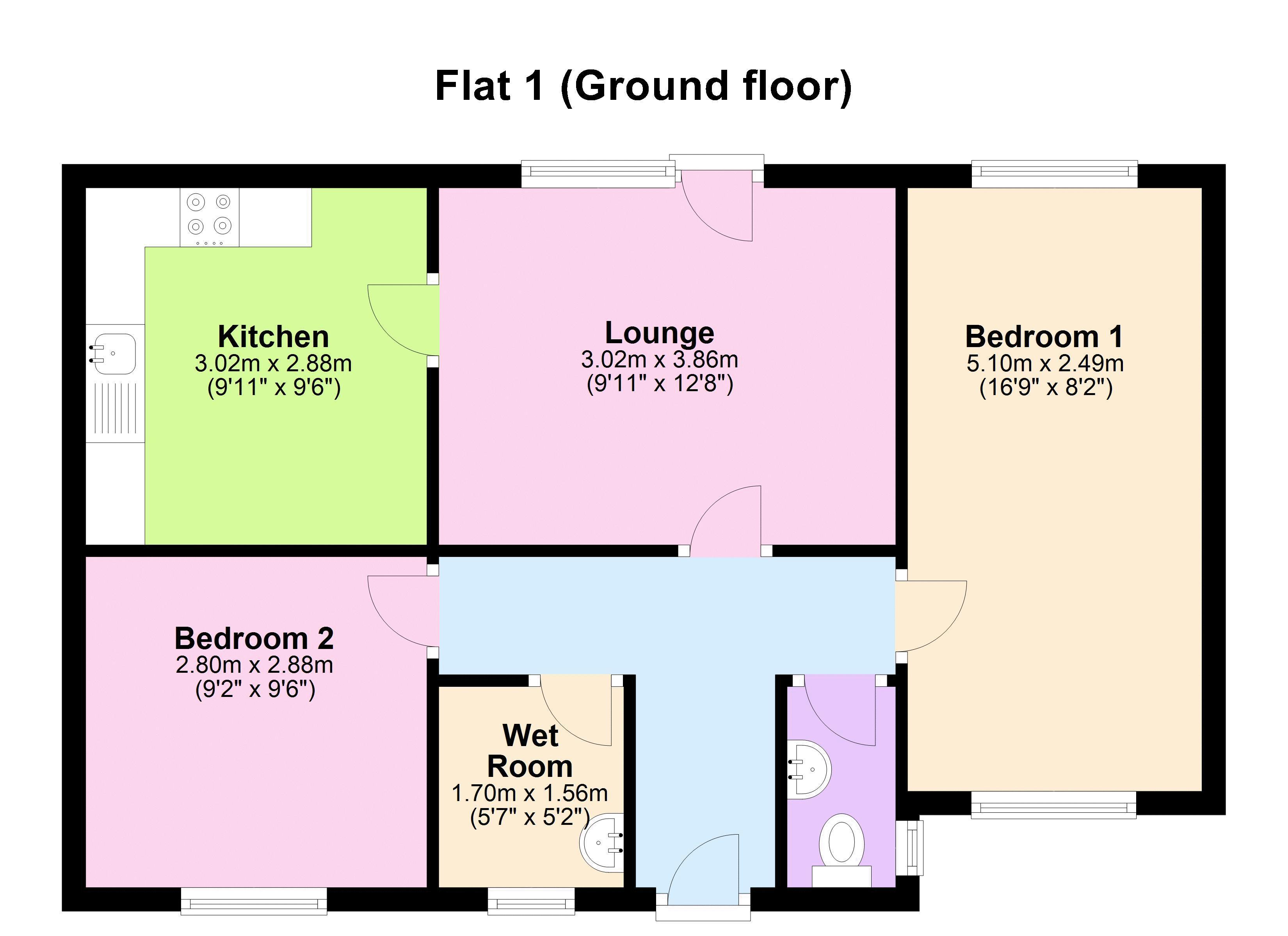 Flat 1