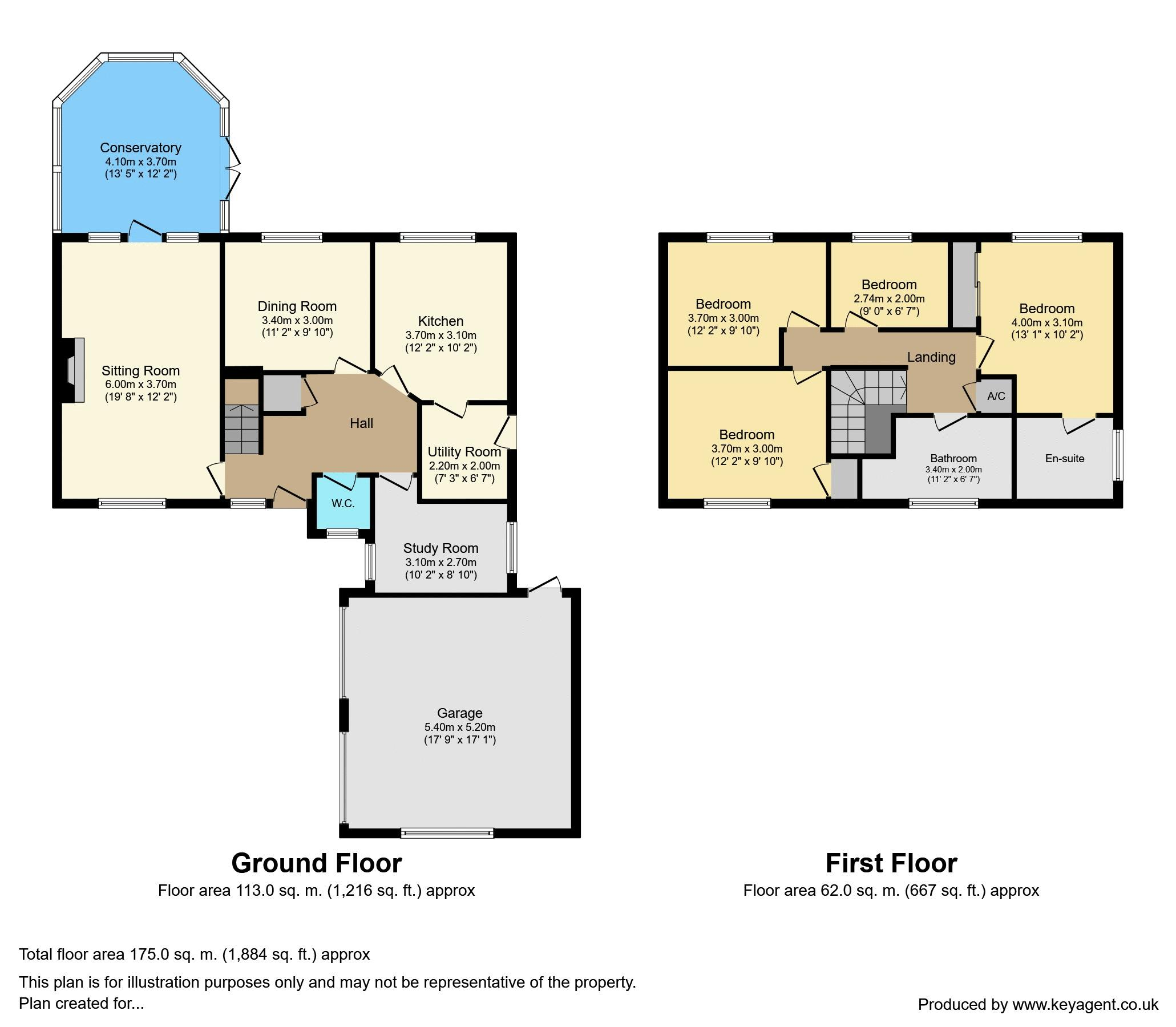 112 Lower Cross Road Floorplan