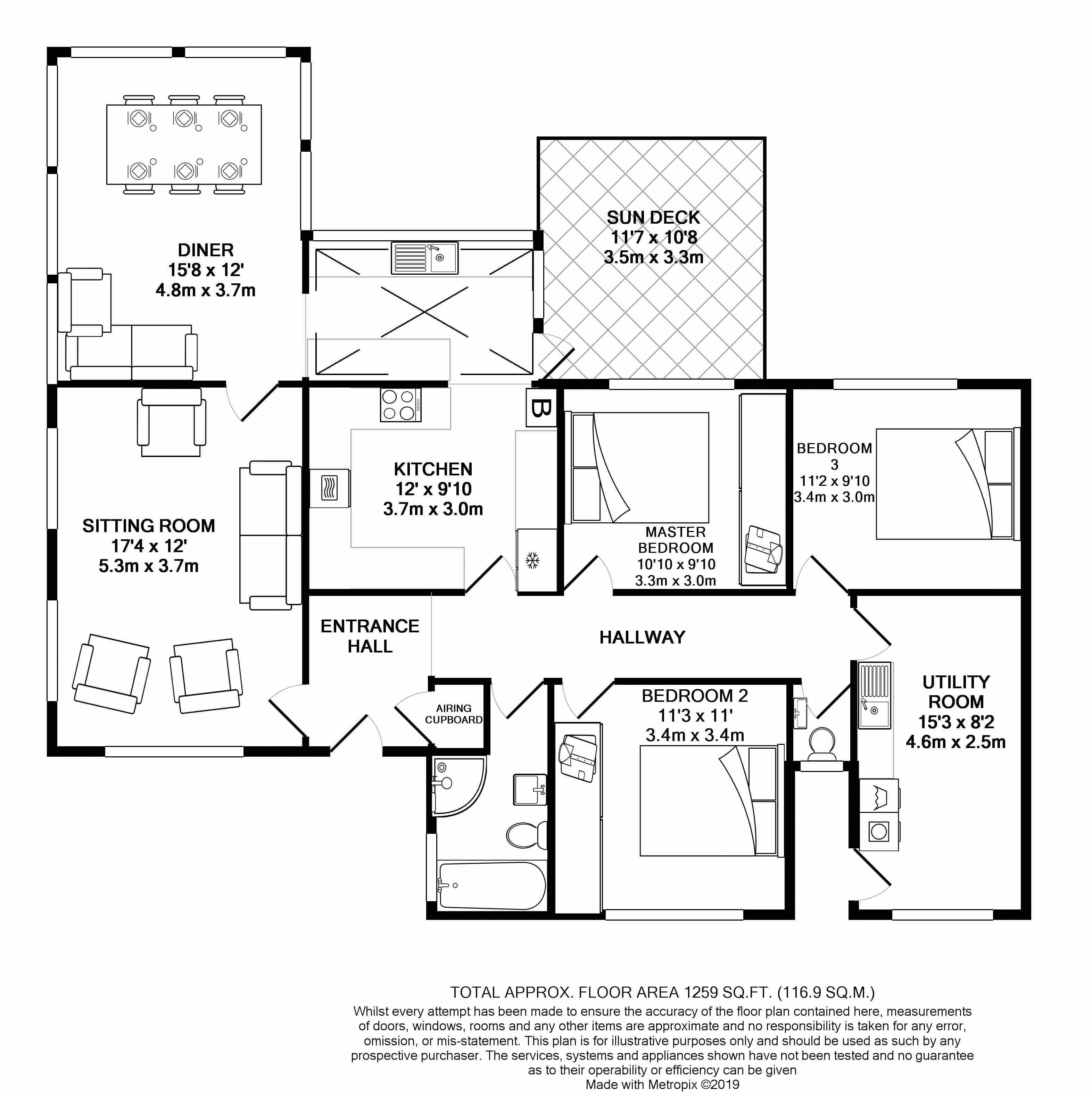 South Lodge Floorplan