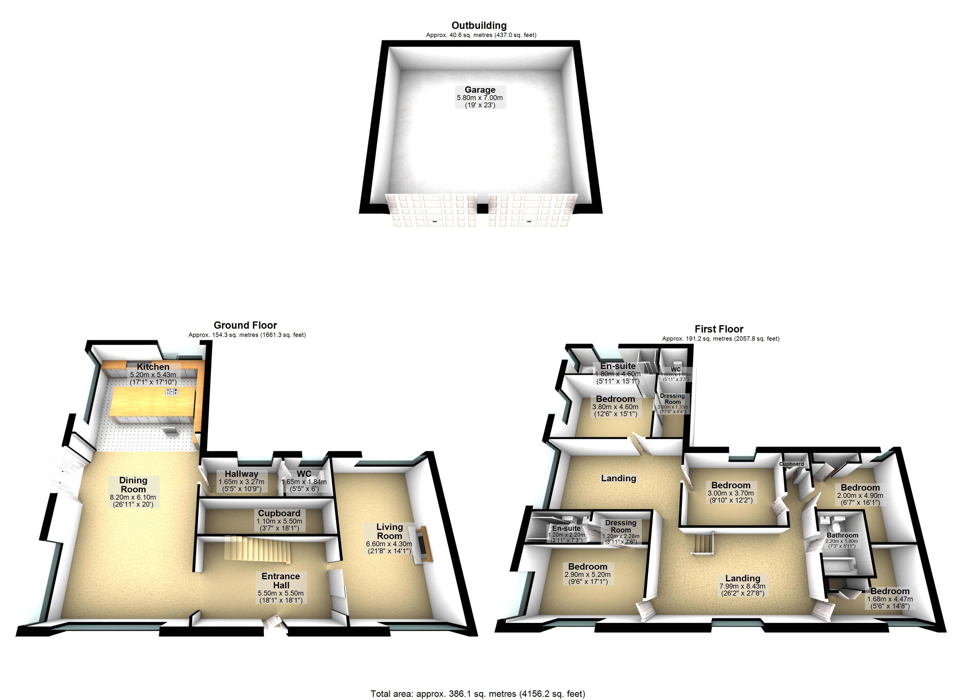 Floor plan- drakelow Gorse Farm