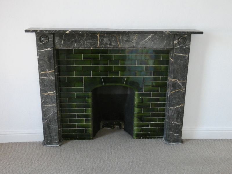 FEATURE FIREPLACE IN BEDROOM