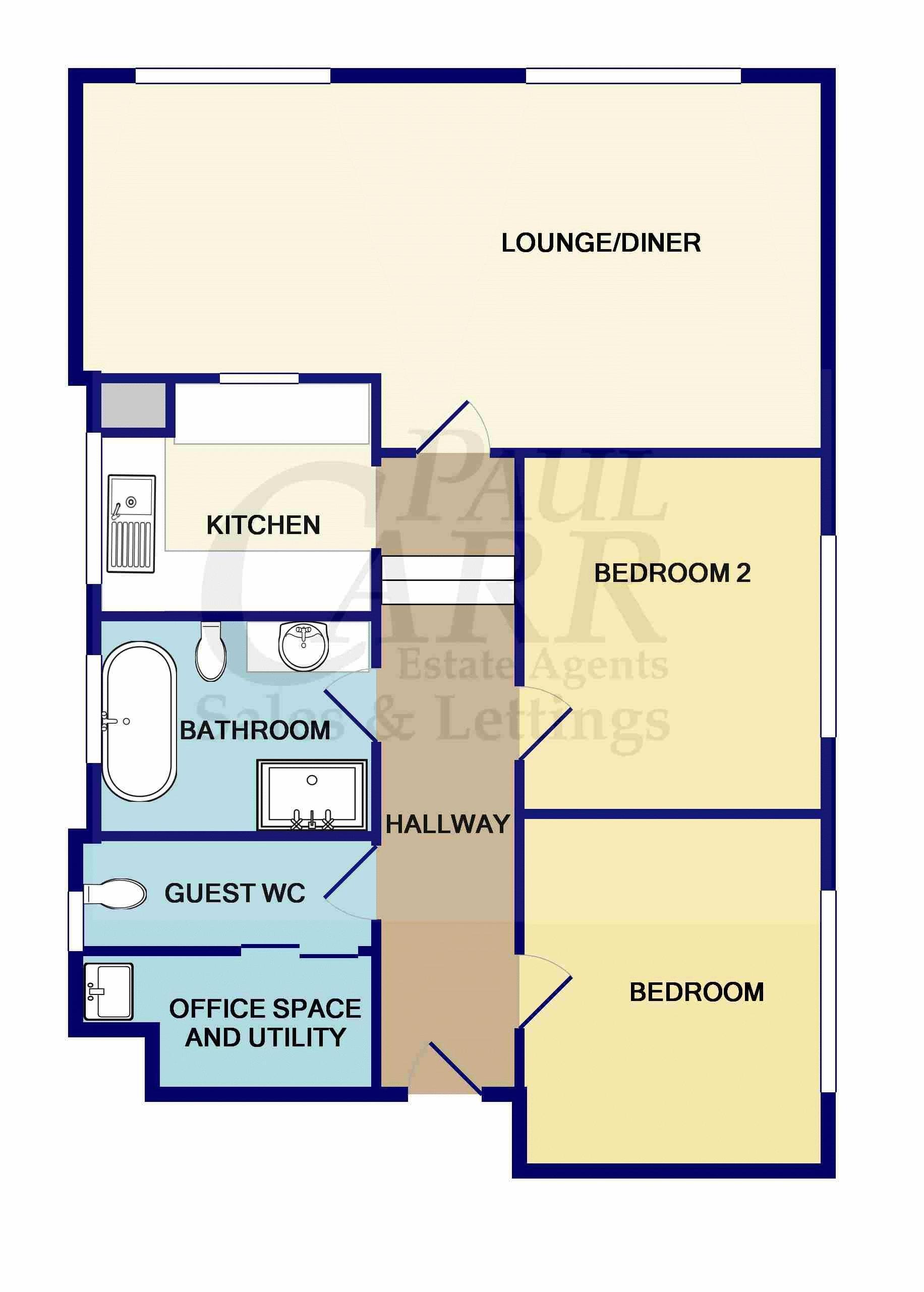 Floorplan 4 Packwood