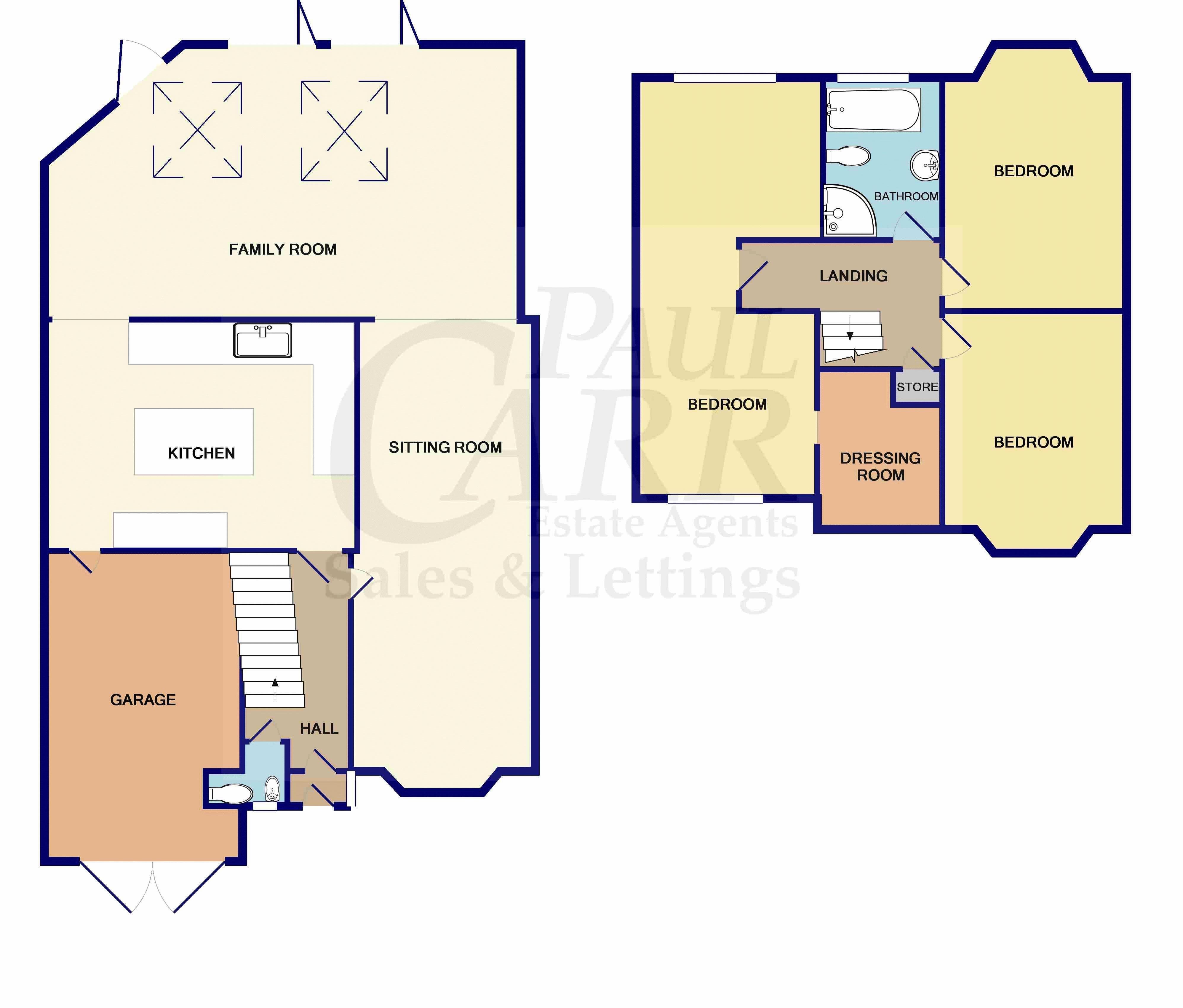 Floorplans 39 Antrobus Road