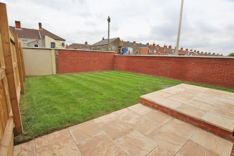 Patio and rear garden