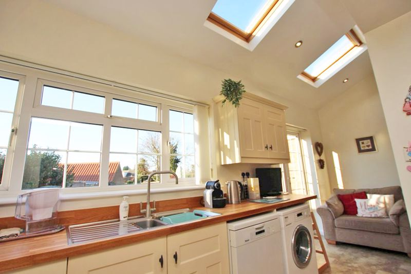 Vaulted kitchen