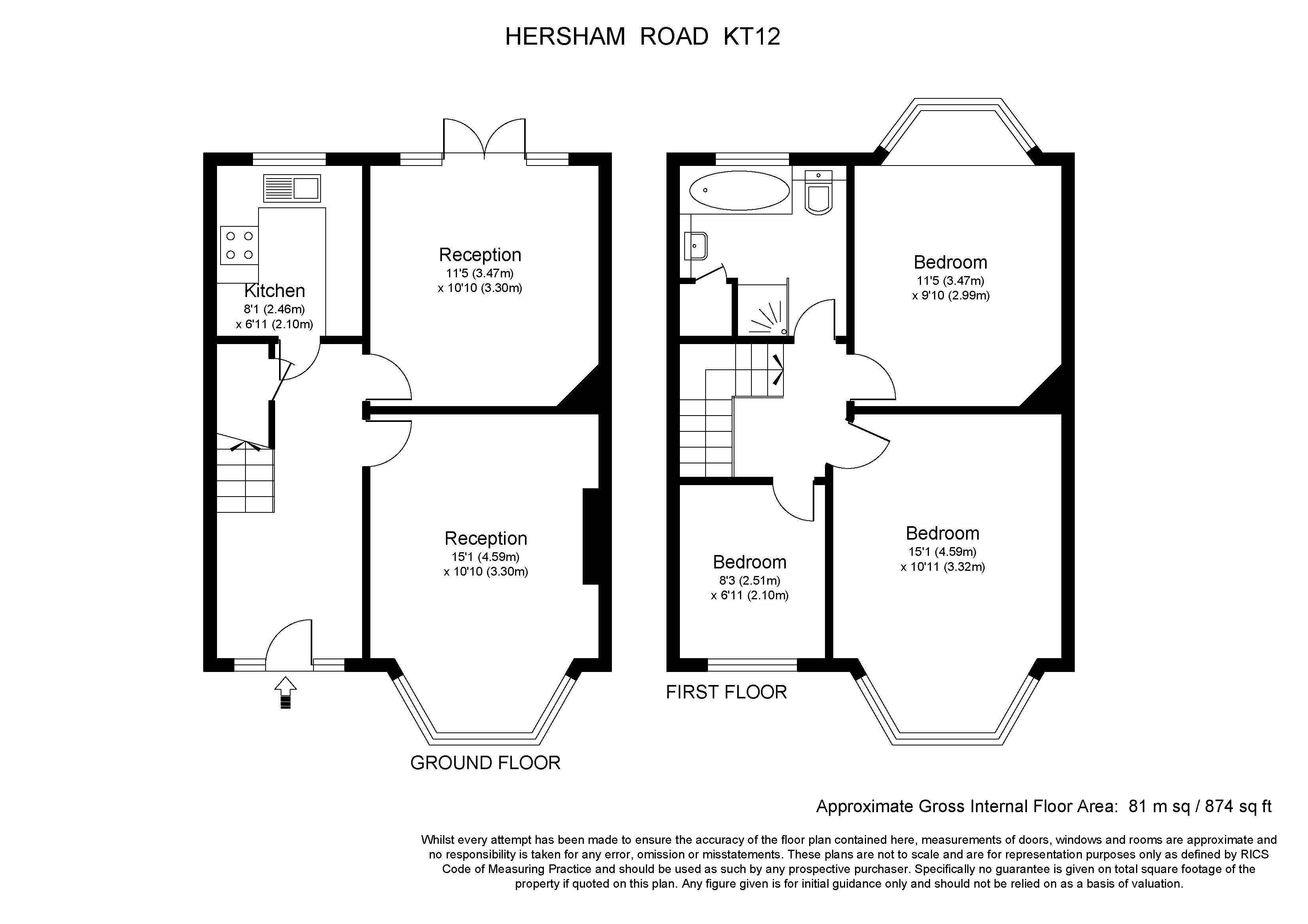 Hersham Road Hersham