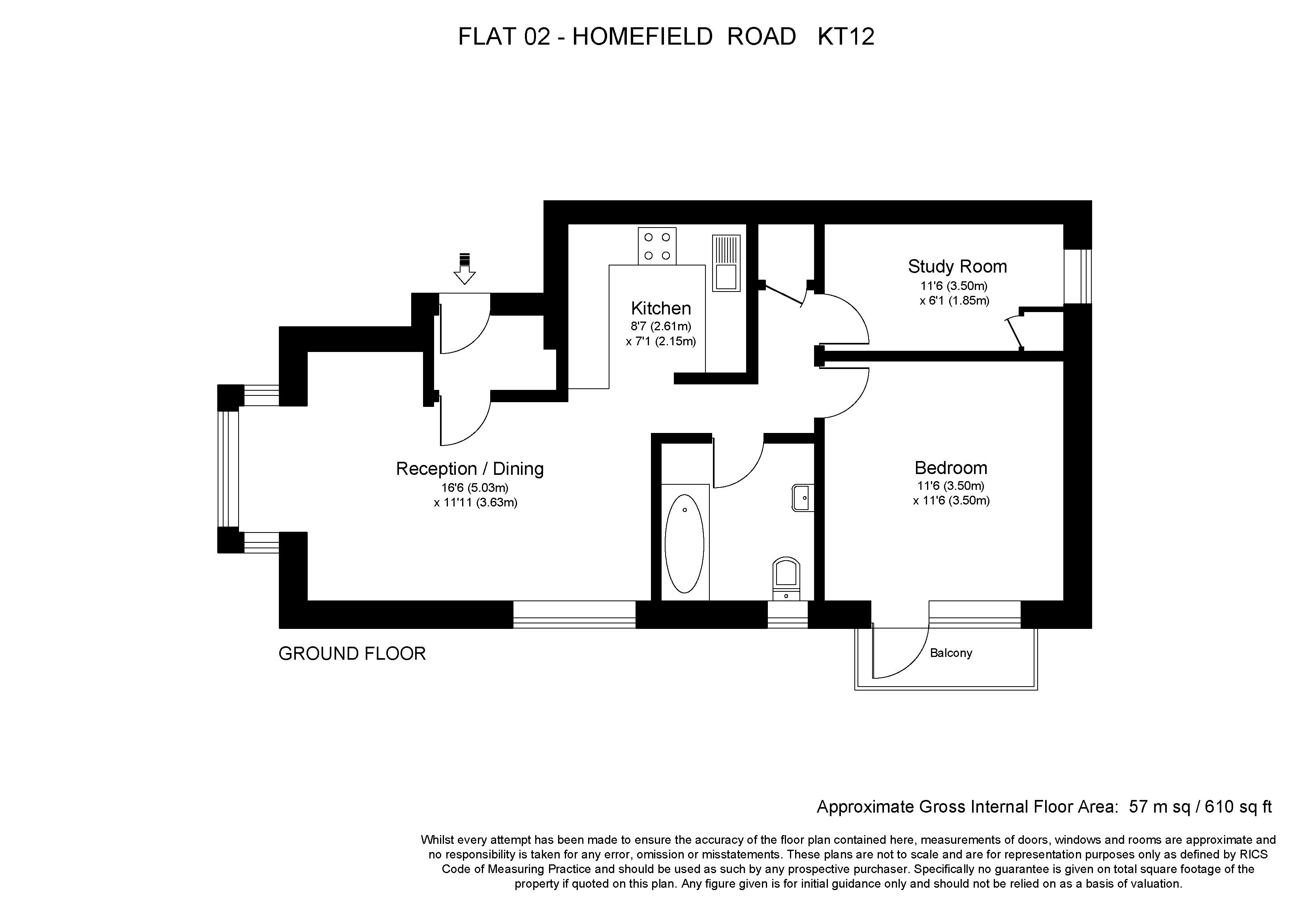 42 Homefield Road