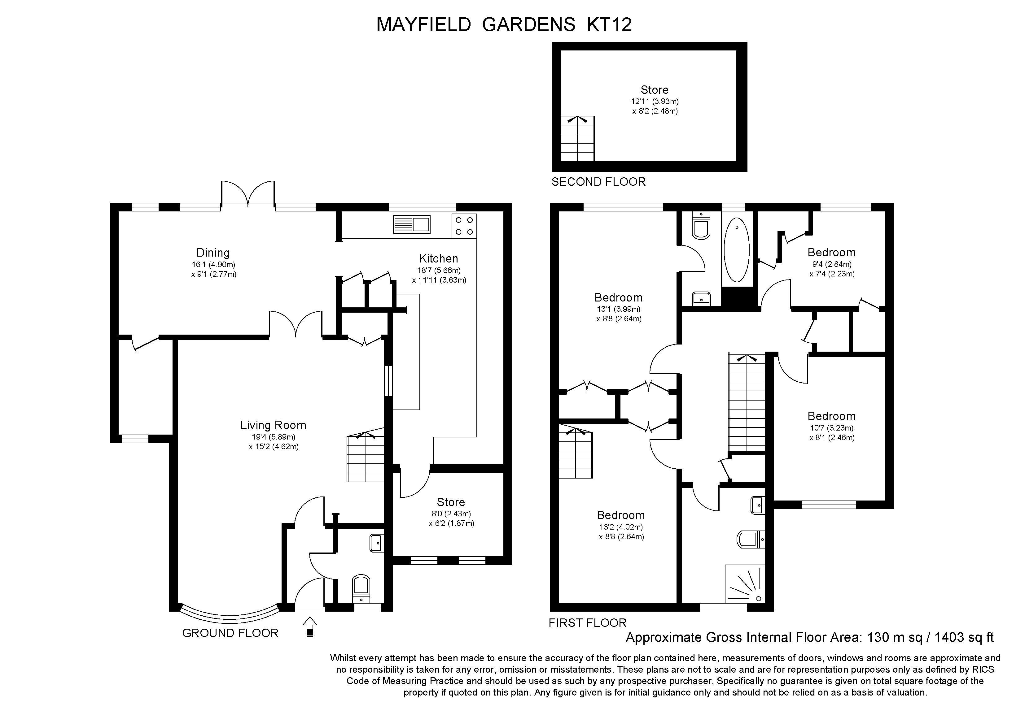 Mayfield Gardens Hersham