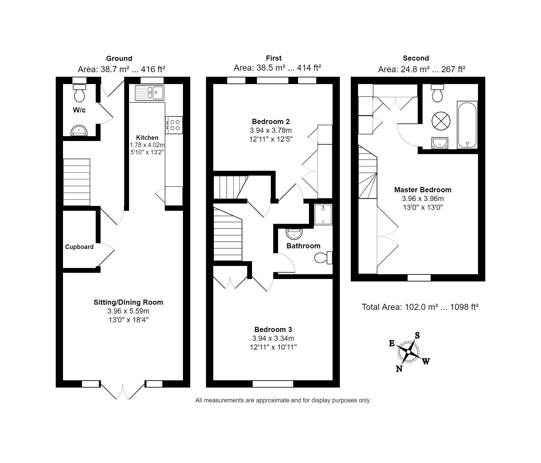 5 Forrest Place Floorplan