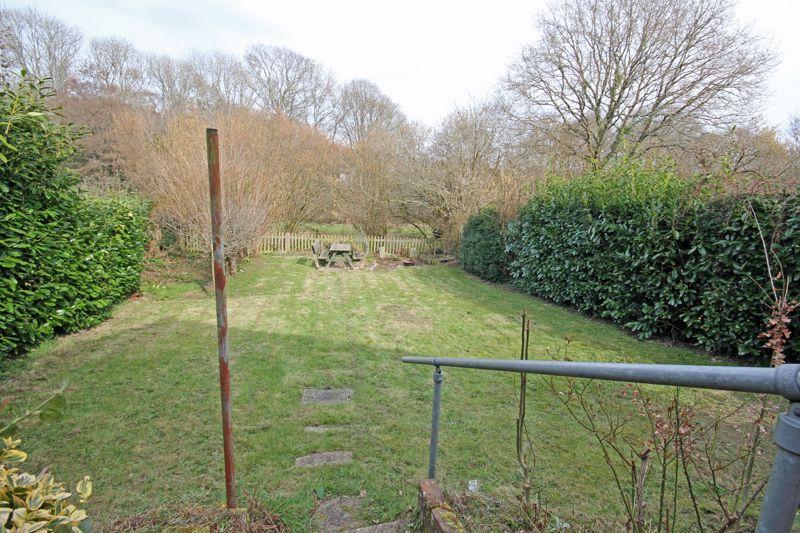 Garden overlooking  paddocks