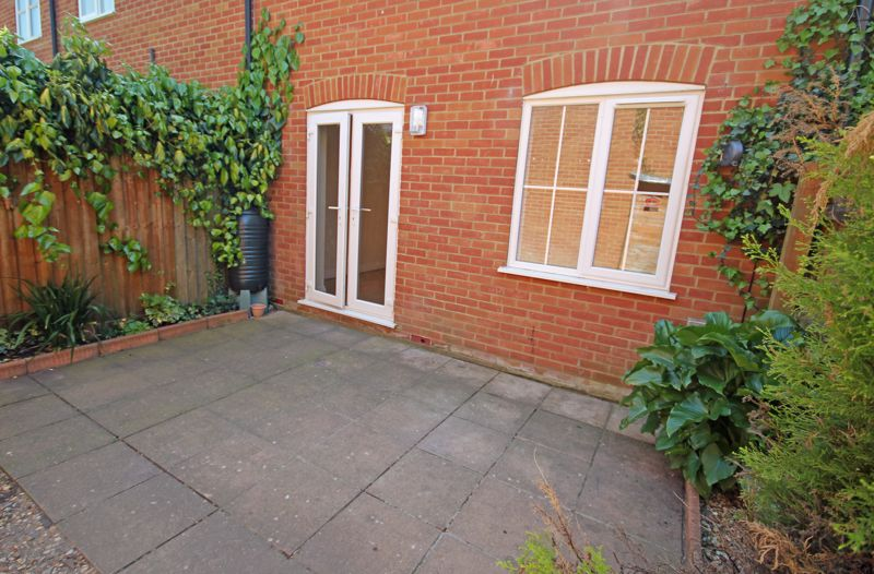 Patio accessed from sitting room