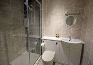 Newly fitted shower room