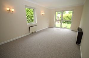 Sitting room with access to garden