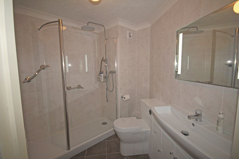 Refurbished shower room