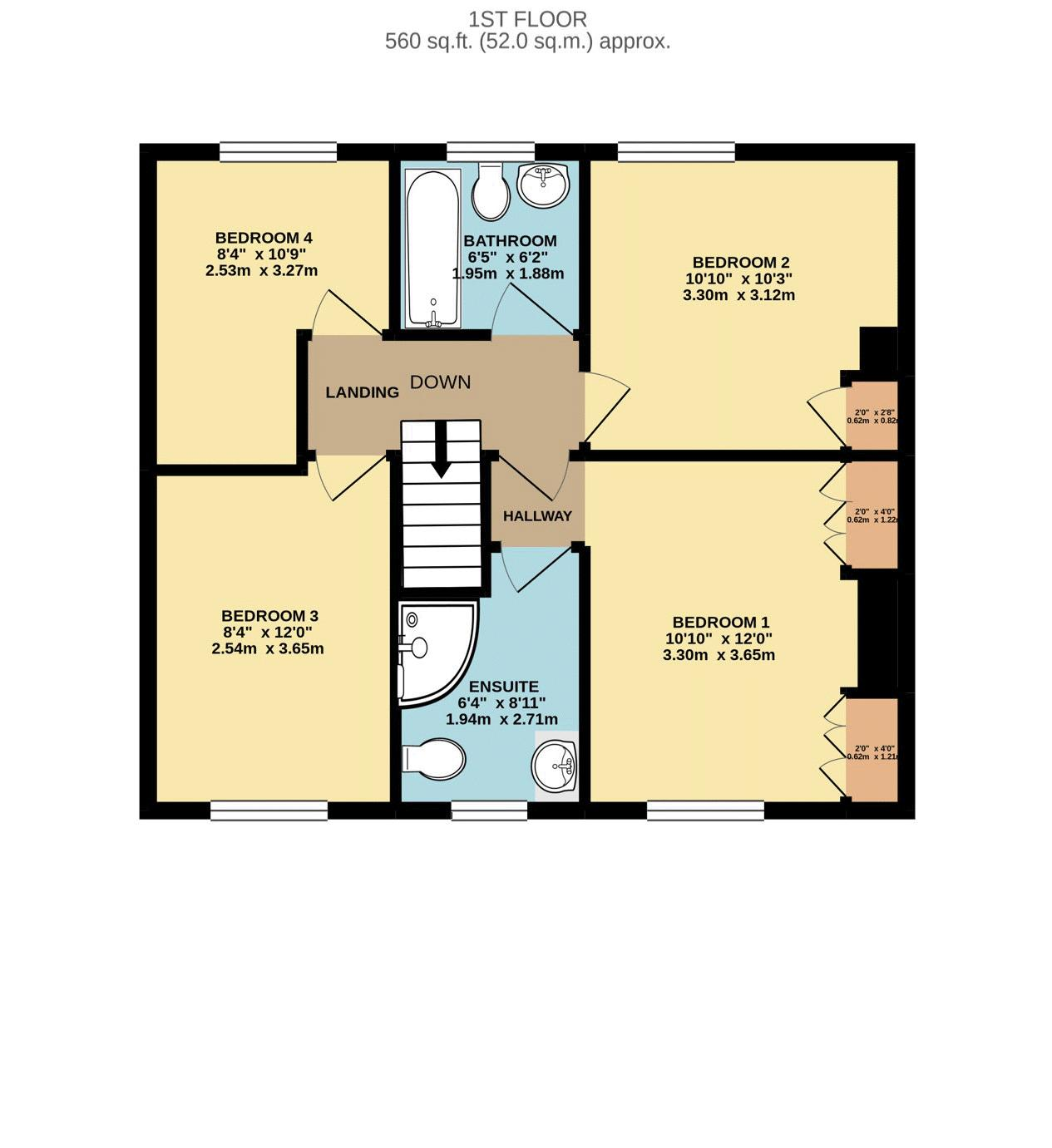Roselea first floor
