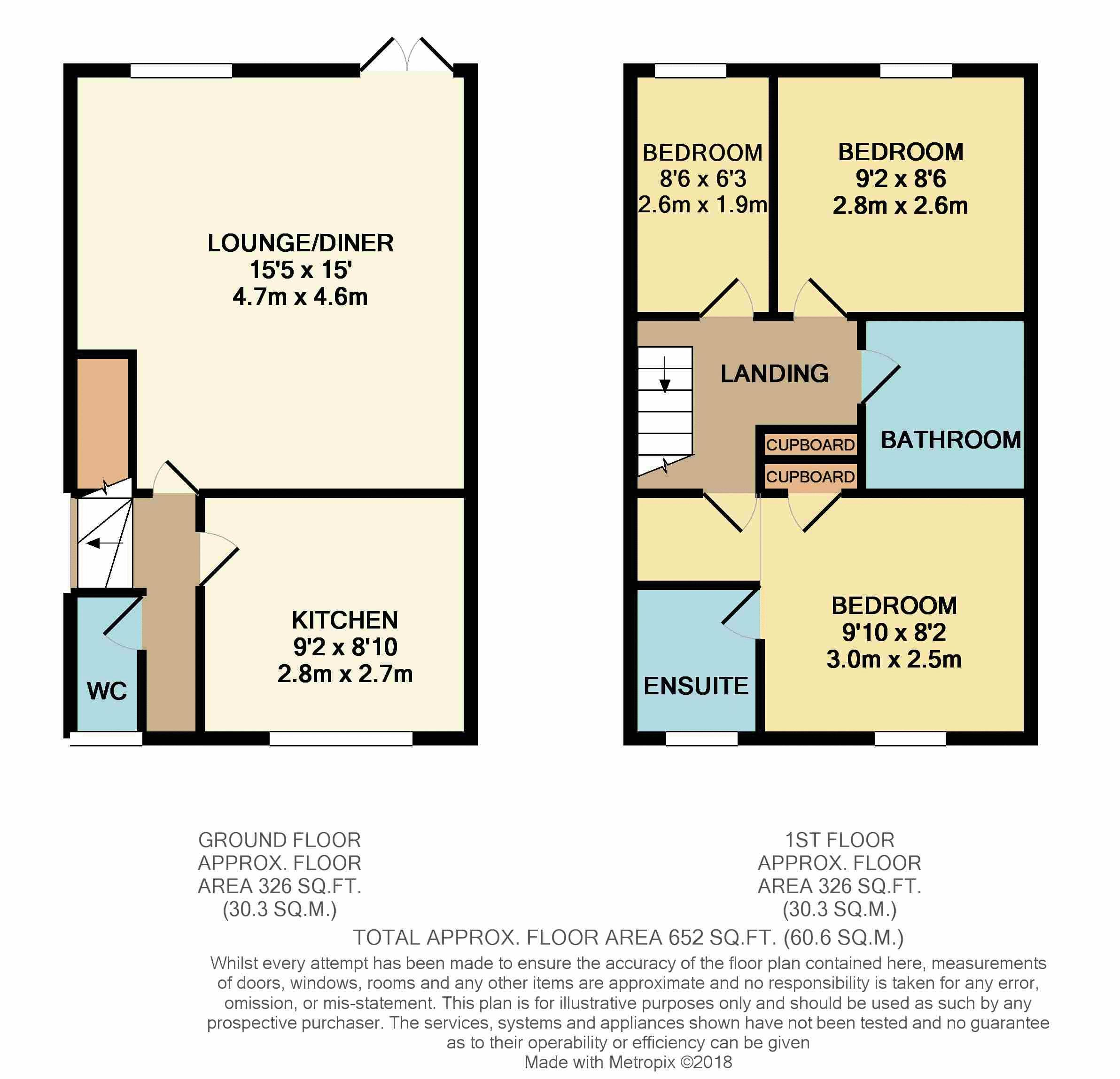 Floorplan Temeraire Road