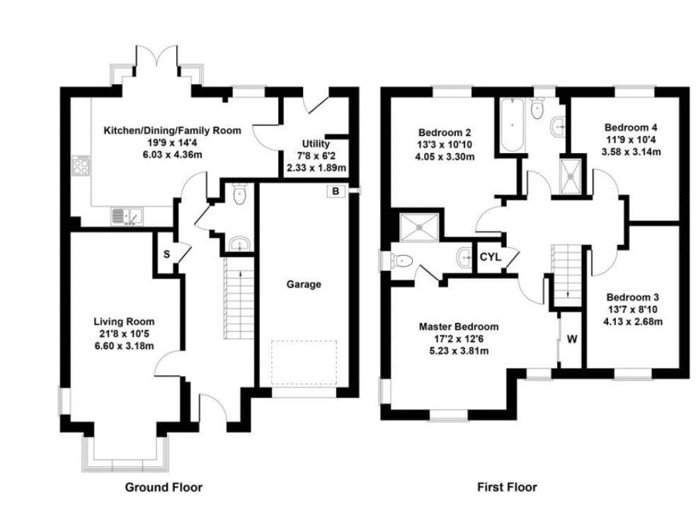 Clippens Drive Floorplan