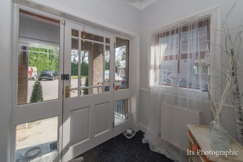 Beauty Suite Entrance Porch