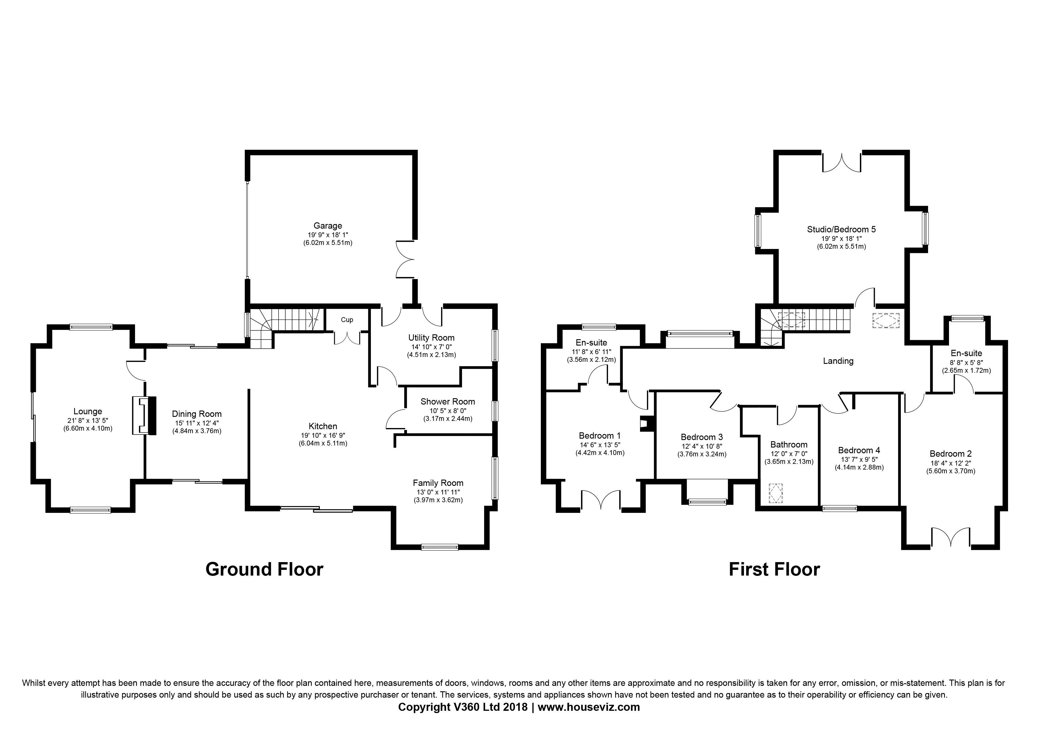 Pine View Floor Plan