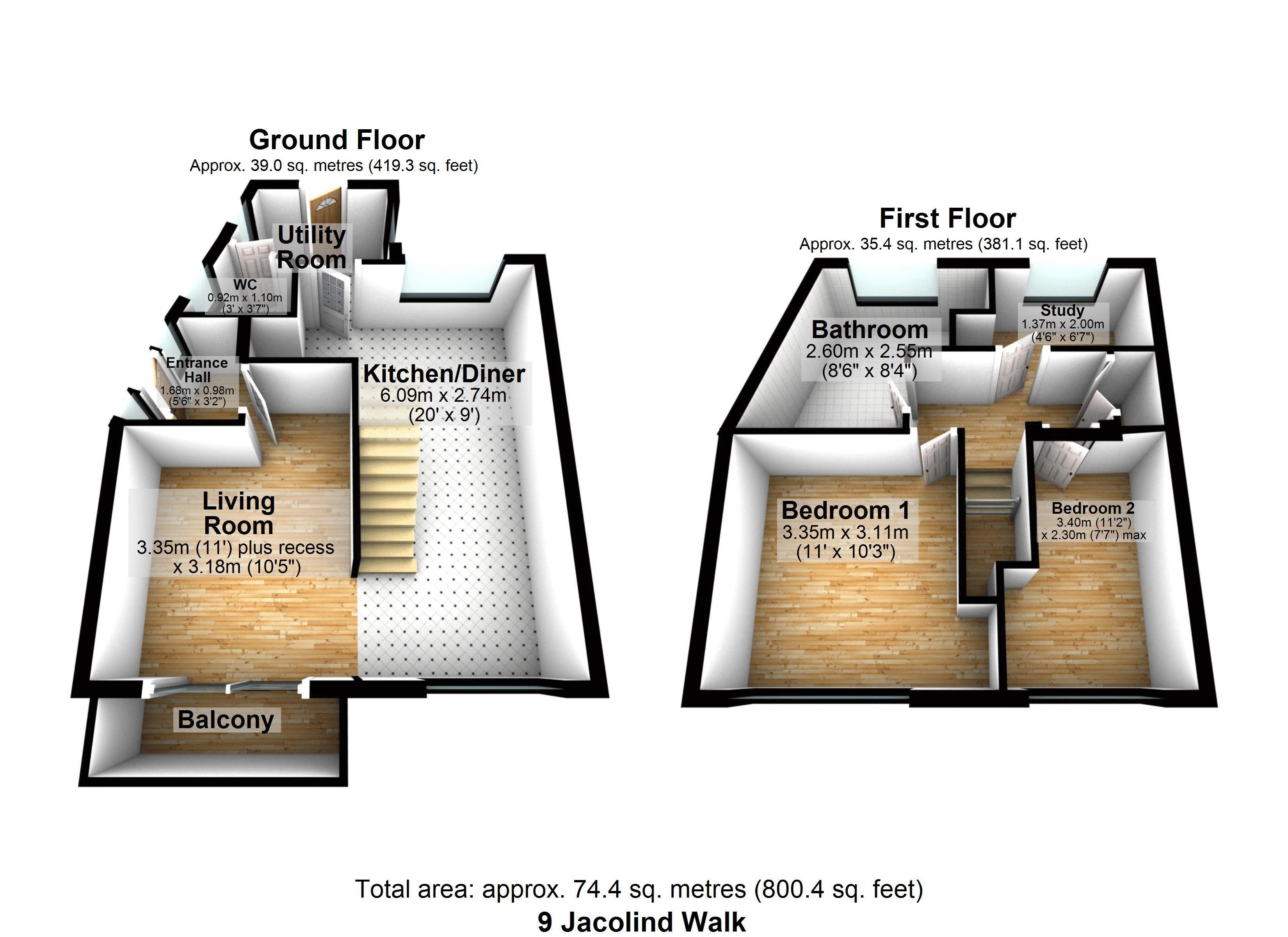 Floorplan Two