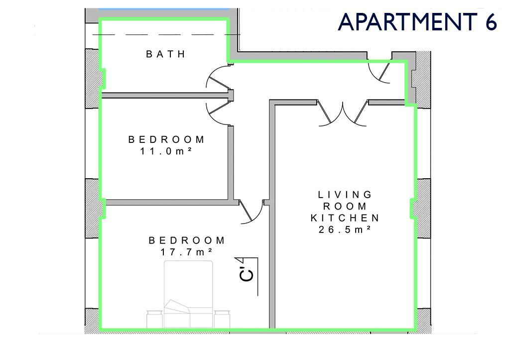 Apartment 6, Park Road