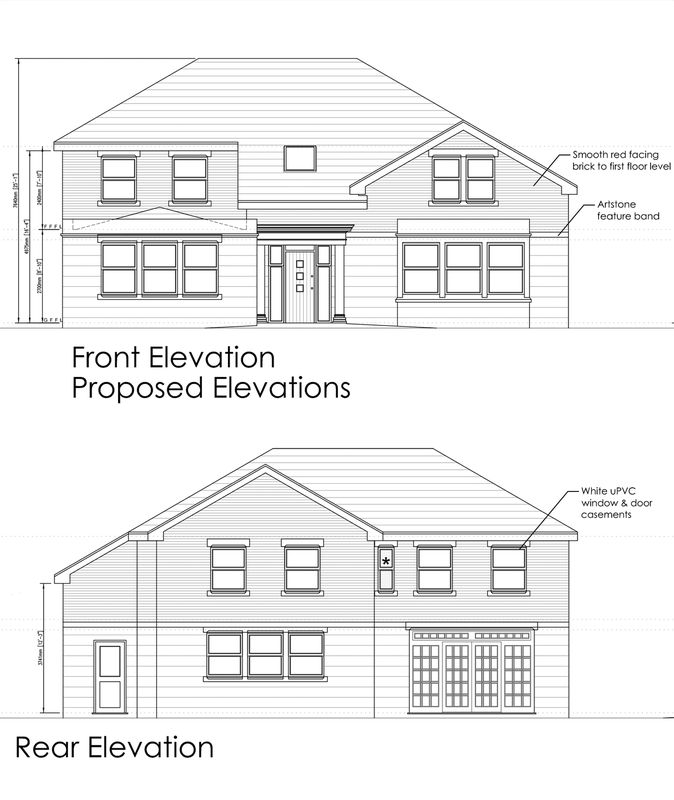 Front & Rear Elevations