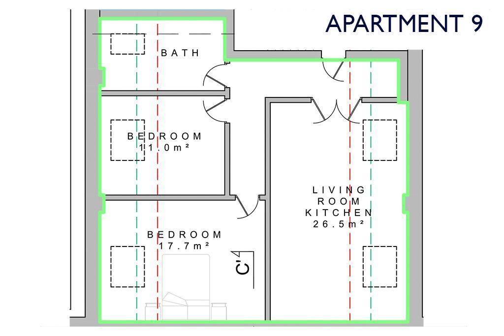 Apartment 9, Park Road