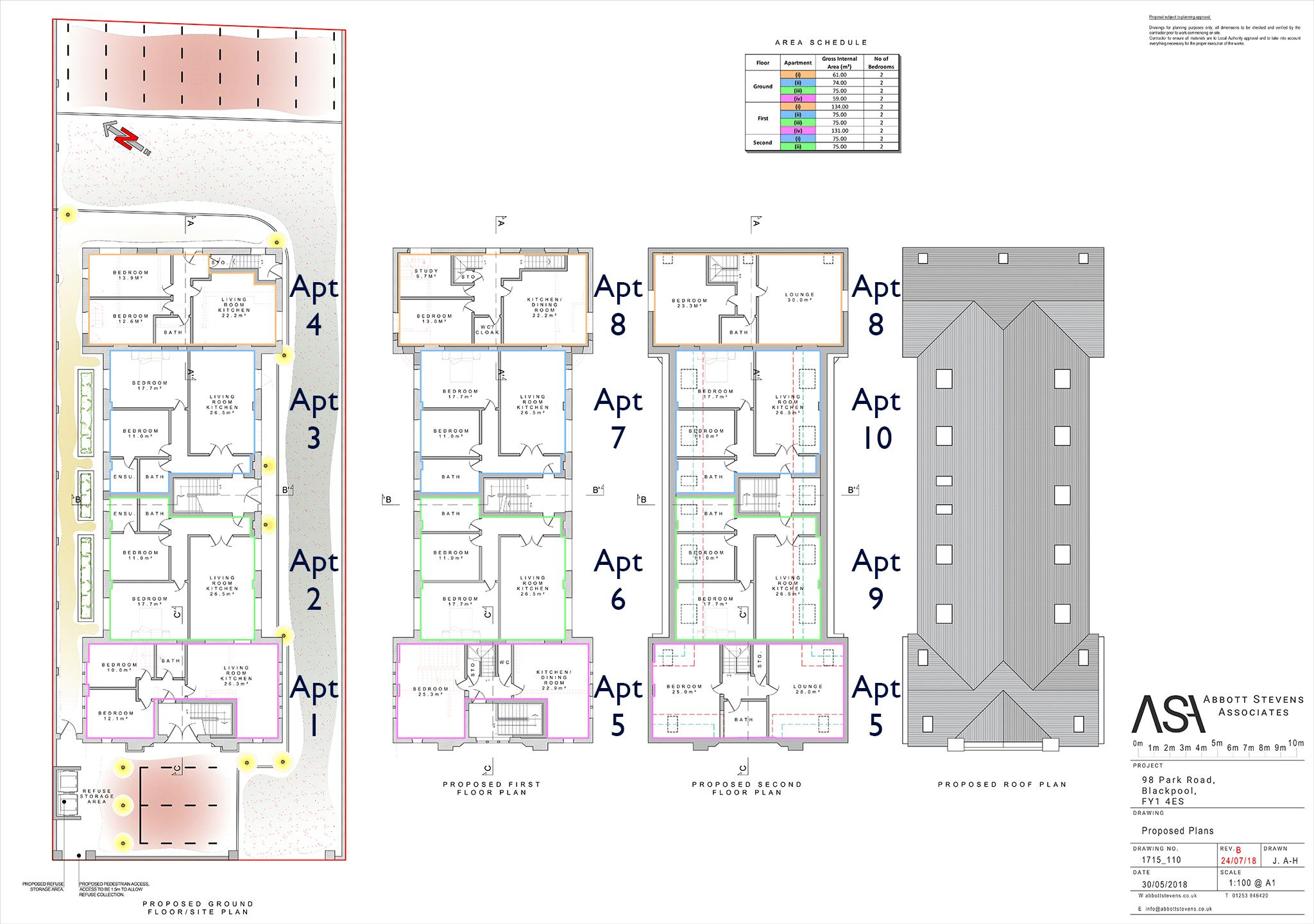 Proposed Layout Plans