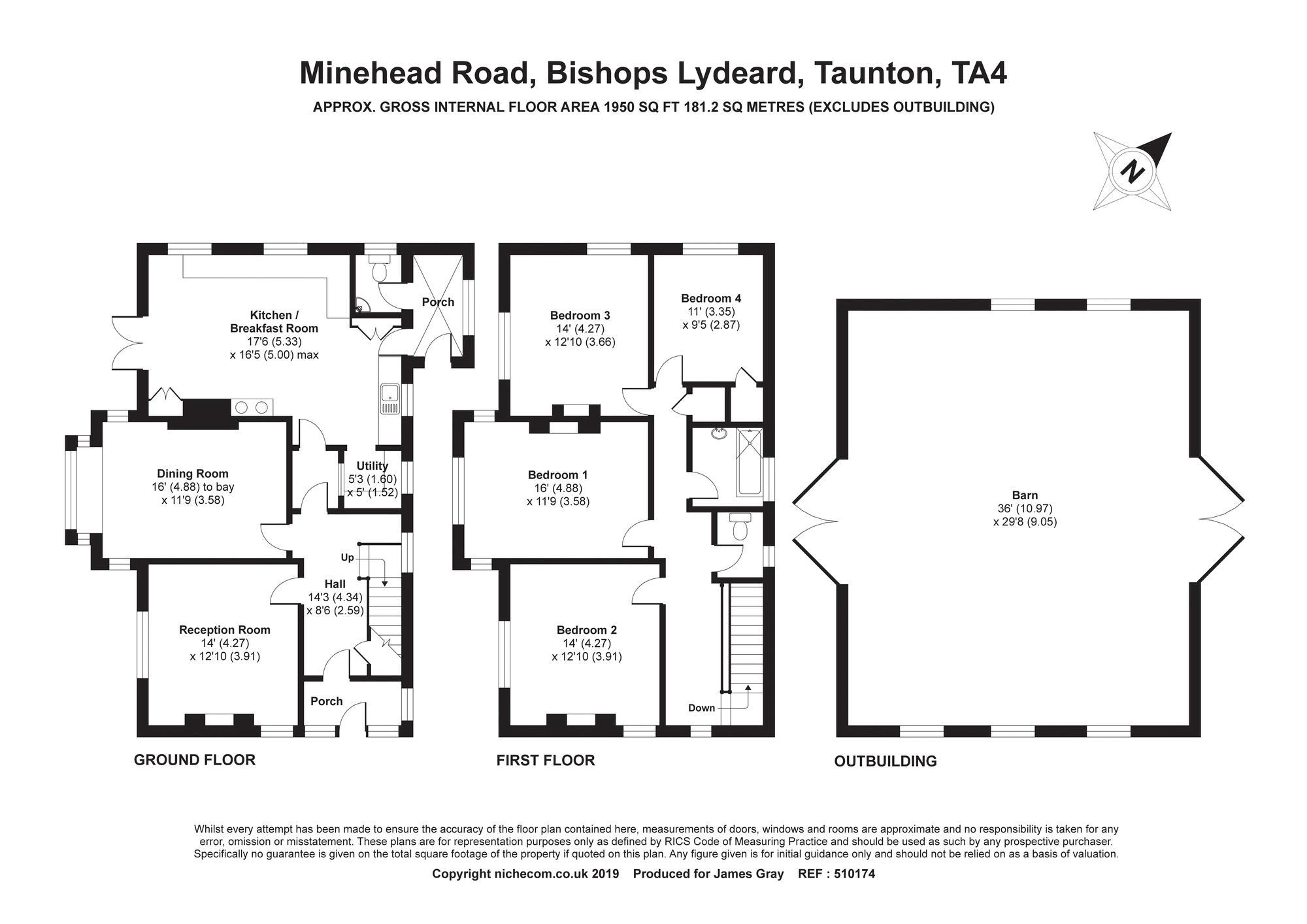 Minehead Road Bishops Lydeard