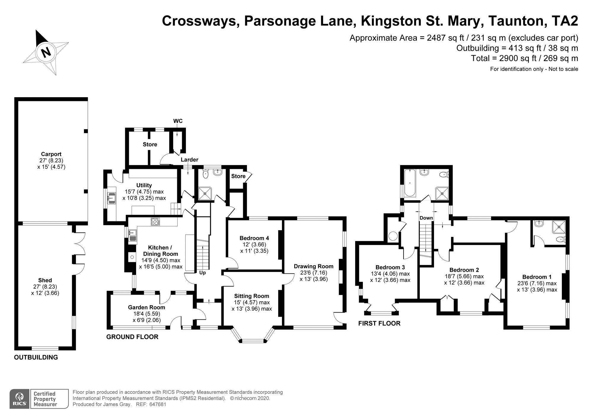 Parsonage Lane Kingston St. Mary