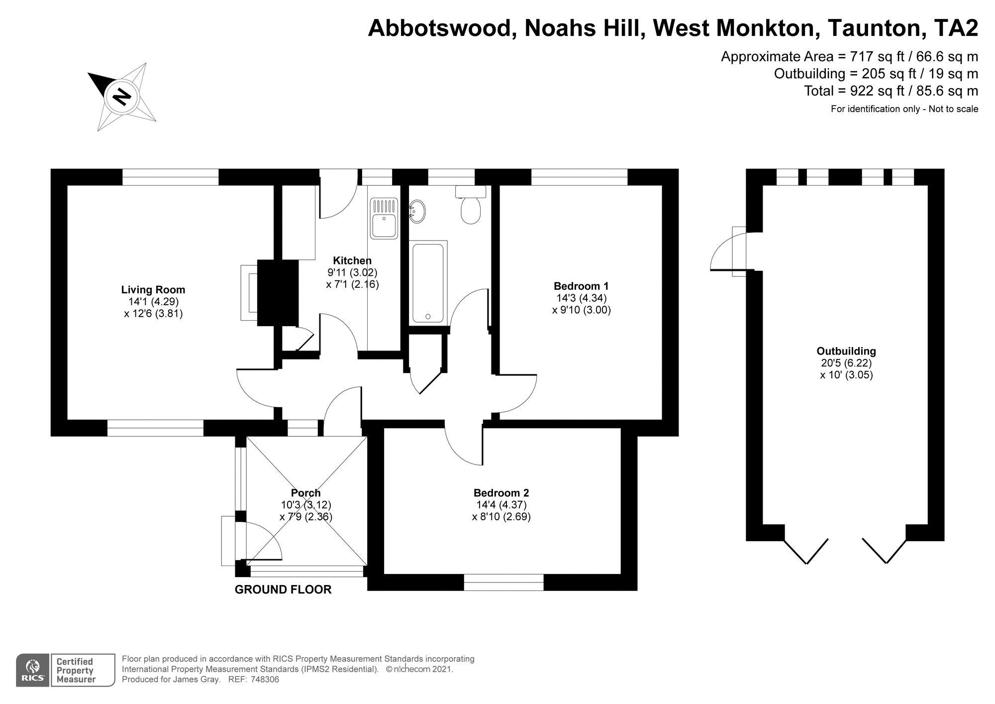 Noahs Hill West Monkton