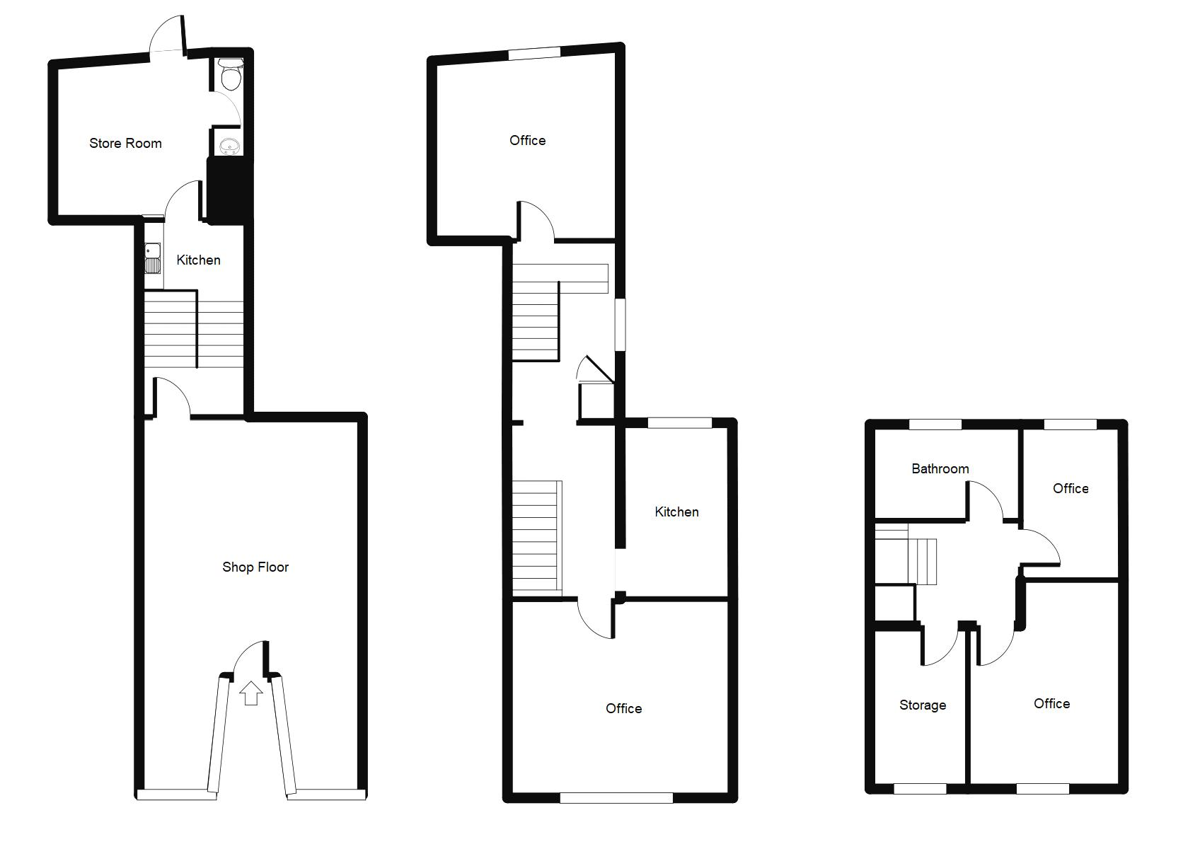 35 High Street, Denbigh Floorplan Upload