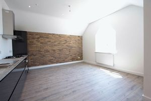 open plan kitchen & lounge