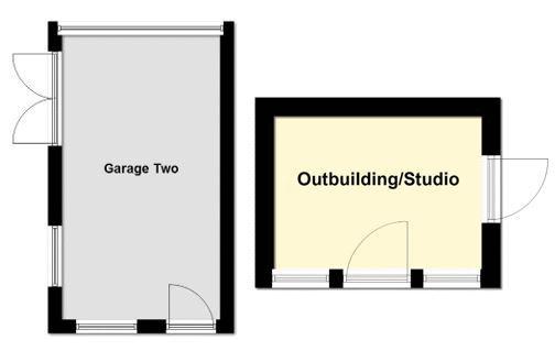 Studio & Second Garage