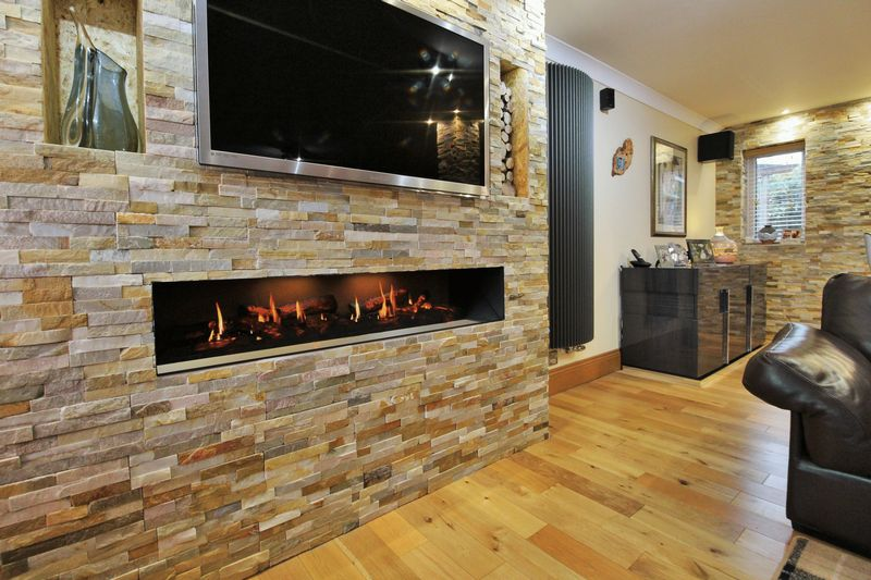 Remote Controlled Fireplace