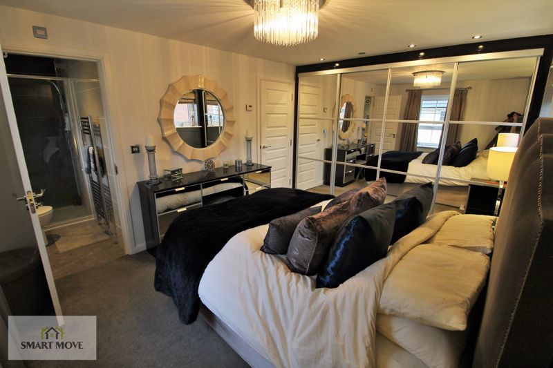 Bedroom One into En Suite