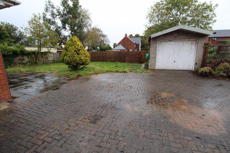 Rear Garden and Garage