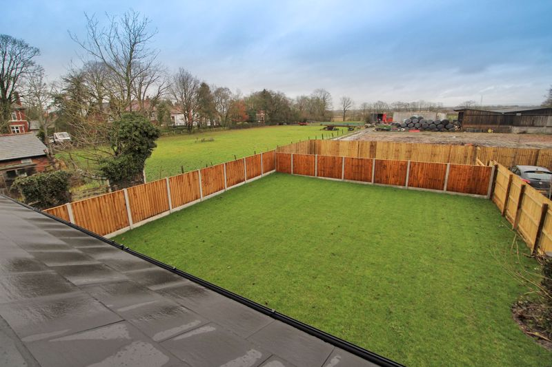 Elevated Rear Outlook & Garden