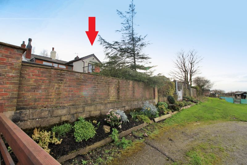 Rear Elevation from Allotments