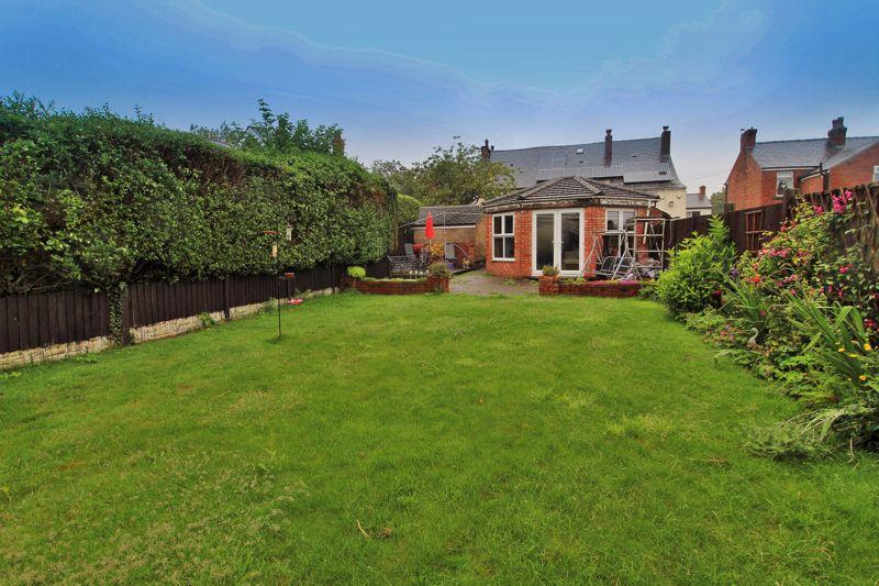 Rear Garden & Rear Elevation