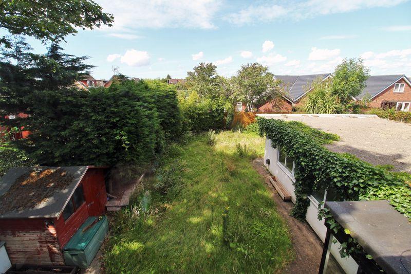 Rear Outlook of Garden