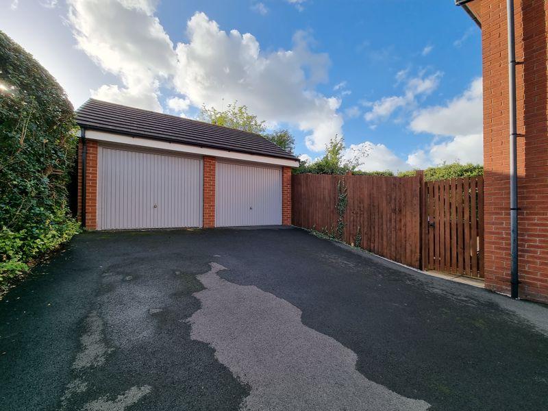 Driveway & Double Garage