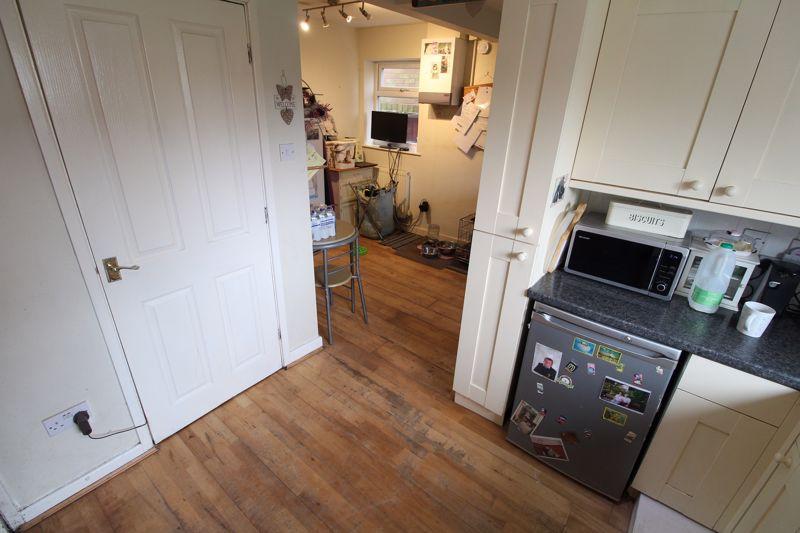 Kitchen thru to Utility Room
