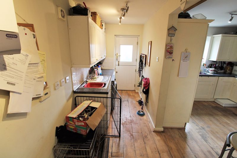 Utility Room and Kitchen